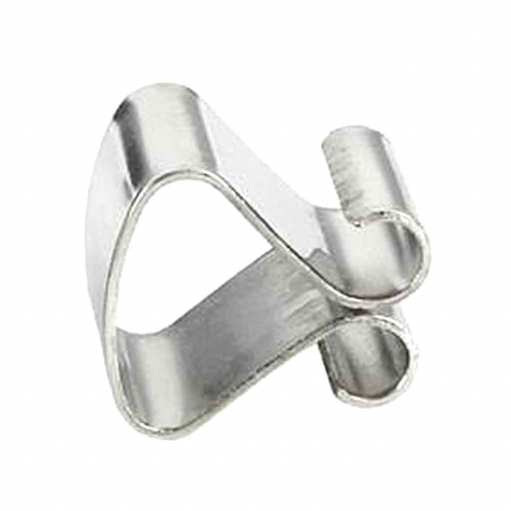 Silver Frameless Clip 8mm